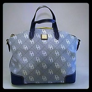 Authentic Vintage Dooney and Bourke Satchel, Blue